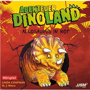 Hörspiel Cover: Allosaurus in Not