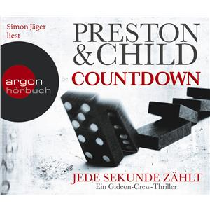 Hörbuch Cover: Countdown - Jede Sekunde zählt