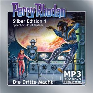 Hörbuch Cover: Perry Rhodan Silber Edition 01: Die Dritte Macht - Remastered (Download)
