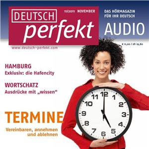 Hörbuch Cover: Deutsch lernen Audio - Termine vereinbaren (Download)