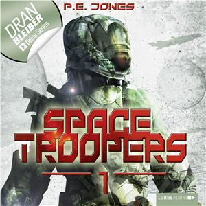 Hörbuch Cover: Space Troopers, Folge 1: Hell's Kitchen (Download)