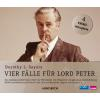 Hörbuch Cover: Vier Fälle für Lord Peter