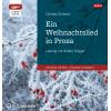 Hörbuch Cover: Ein Weihnachtslied in Prosa