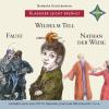 H�rbuch Cover: Faust, Wilhelm Tell, Nathan der Weise