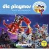 Hörbuch Cover: Die Playmos - Folge 2 Angriff der Drachenritter