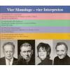 Hörbuch Cover: Vier Monologe