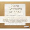 Hörbuch Cover: More Letters of Note - Briefe für die Ewigkeit
