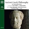 Hörbuch Cover: Ancient Greek Philosophy (Download)
