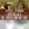 Hörbuch Cover: Doppelte Spannung: Der Golem | Dr. Jekyll und Mr. Hyde (Download)