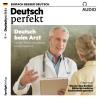 Hörbuch Cover: Deutsch lernen Audio - Deutsch beim Arzt (Download)