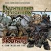 Hörbuch Cover: Pathfinder Legends - Rise of the Runelords, 4: Fortress of the Stone Giants (Unabridged) (Download)