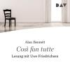 Hörbuch Cover: Cosi fan tutte (Download)