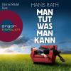 Hörbuch Cover: Man tut was man kann (Download)