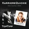Hörbuch Cover: Karrierequickie: Die Alpha DNA (Download)